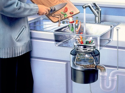 Как работает измельчитель пищи для раковины