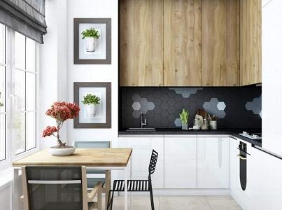 Обустройство кухни 6 кв метров, как сэкономить место, выигрышная отделка