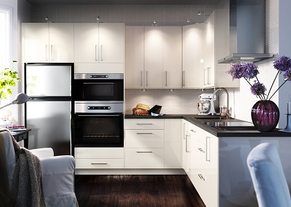 Кухни ИКЕА в интерьере: 32 фото