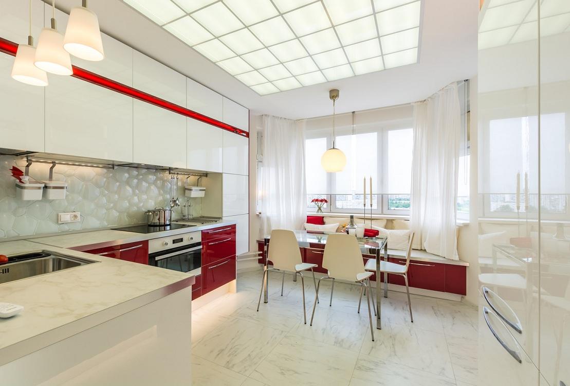Кухня 14 м с окном