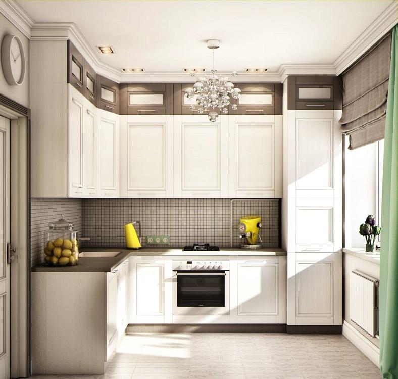 Кухня 6 метров в классическом стиле