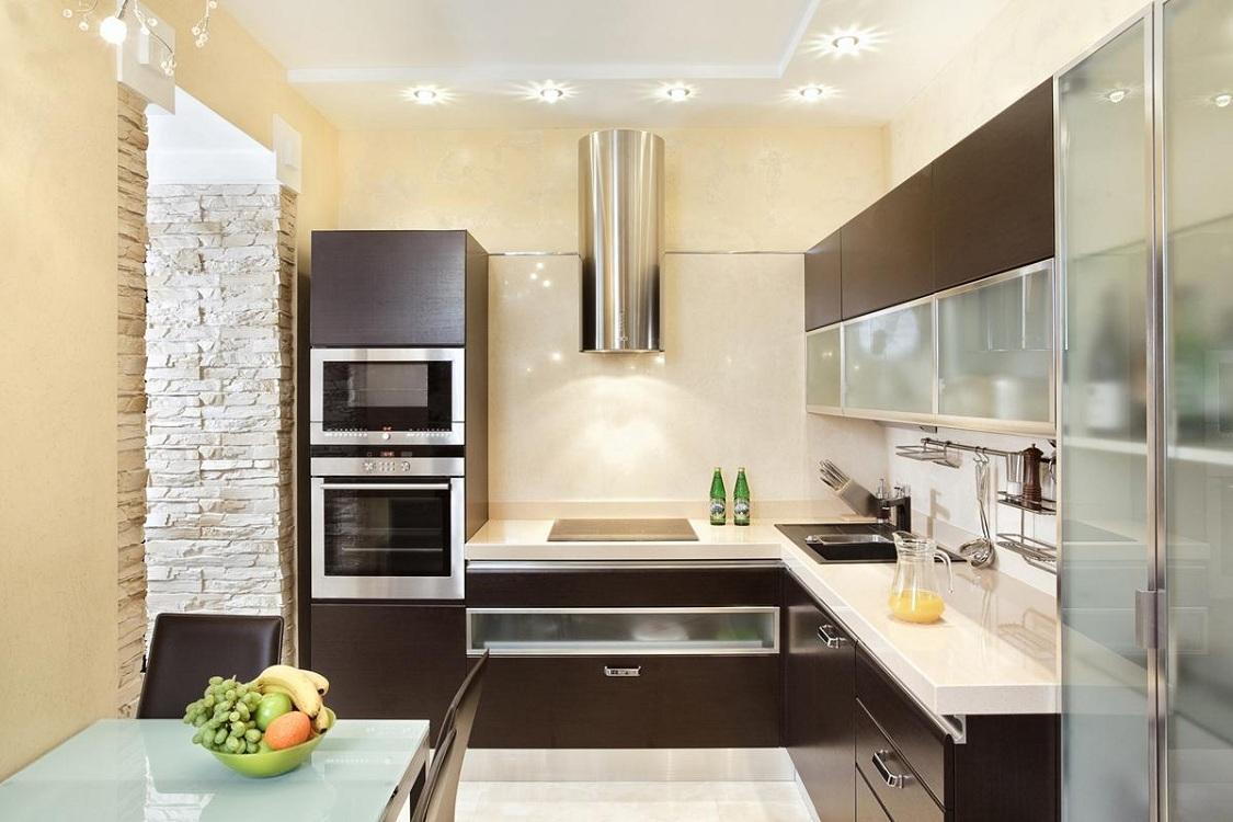 Кухня 7 метров в современном стиле
