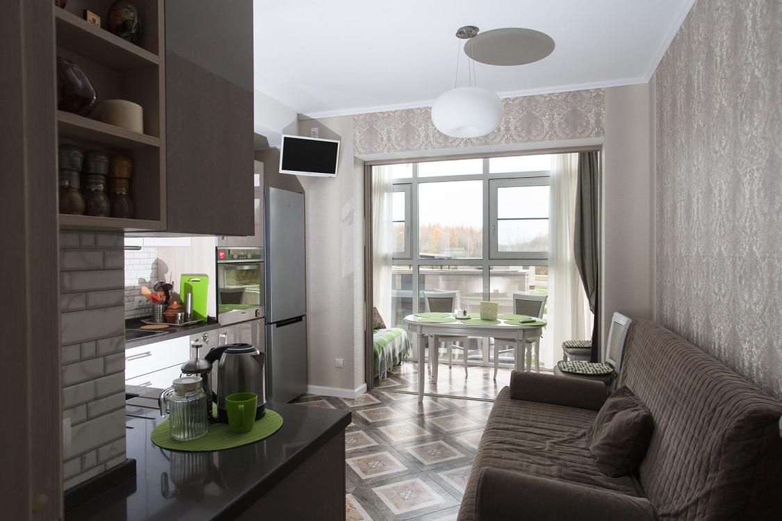 Кухня 9 метров с балконом