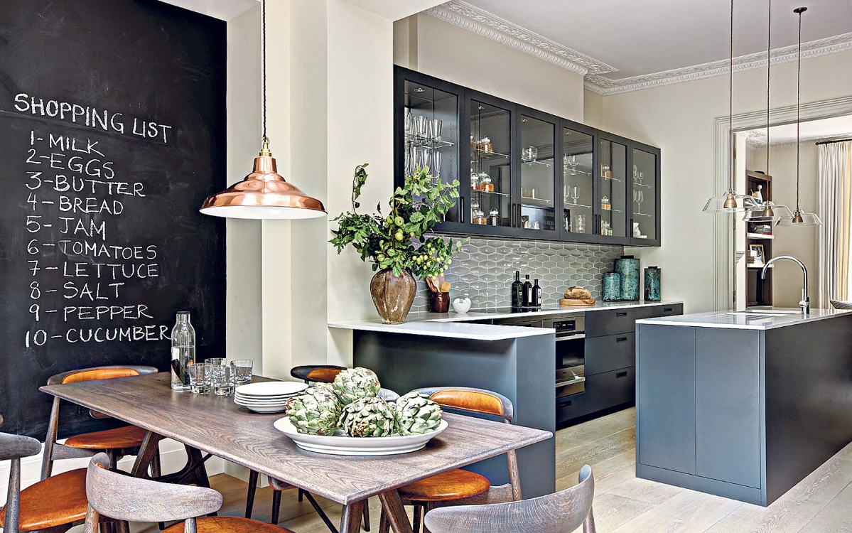 Кухня в барном стиле