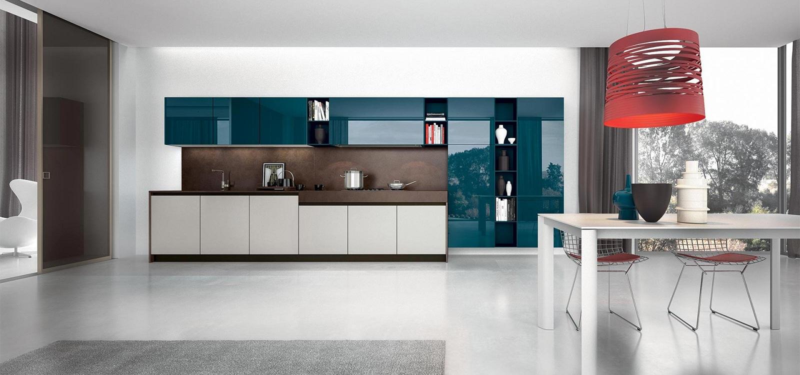 Кухонные фасады из закаленного стекла
