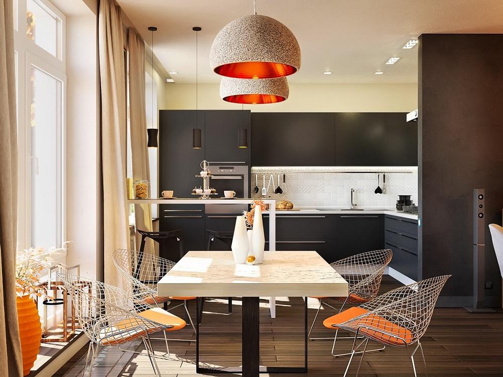 Лампы для кухни в современном стиле