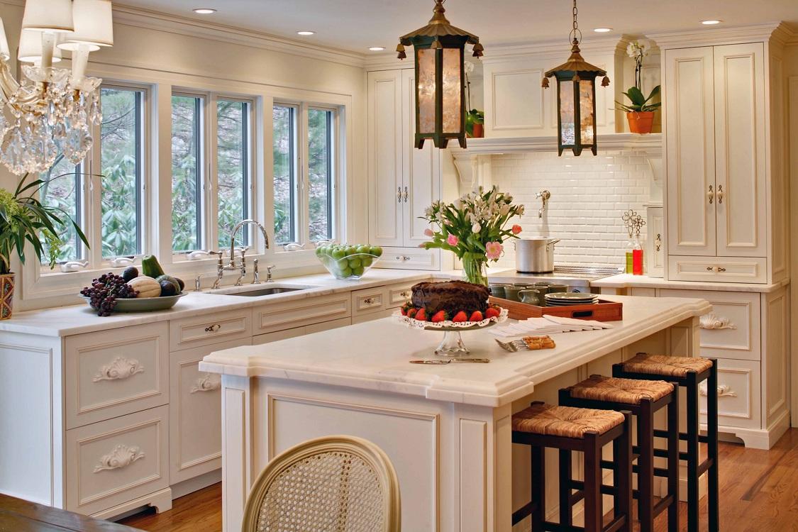 Лампы для кухни в стиле прованс
