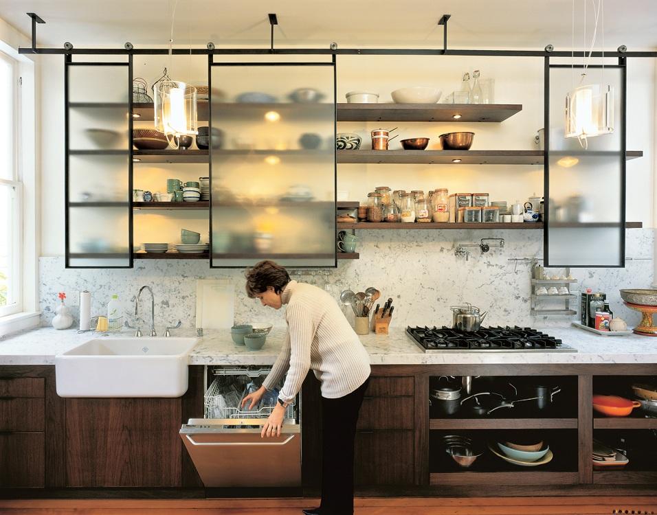 Металлические полки для кухни