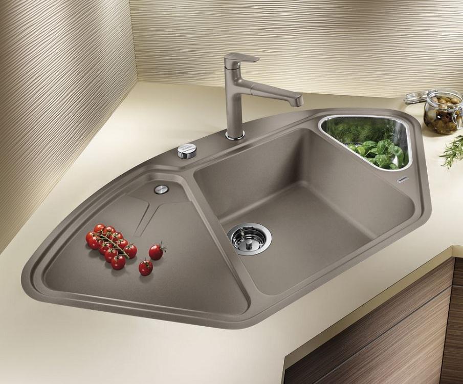 Мойка для кухни нестандартной формы