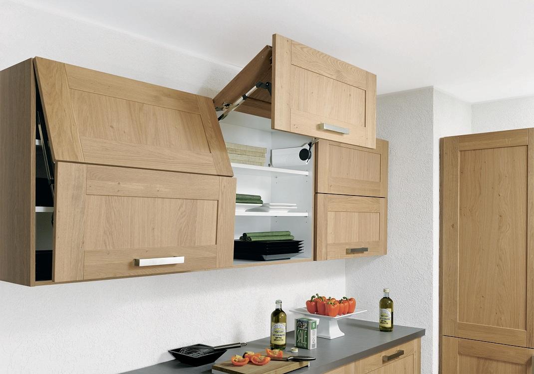 Навесные шкафы для кухни из МДФ