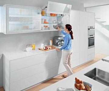 Варианты подвесных шкафов для кухни