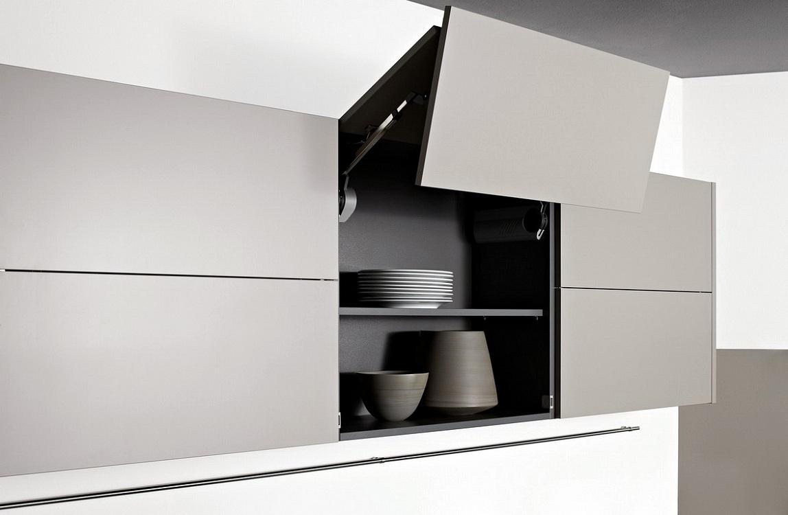 Навесные ящики для посуды на кухню