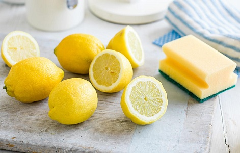 Отмыть духовку соком лимона