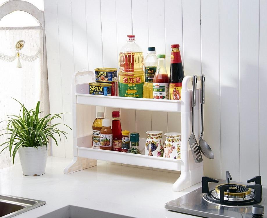 Пластиковые полки для кухни