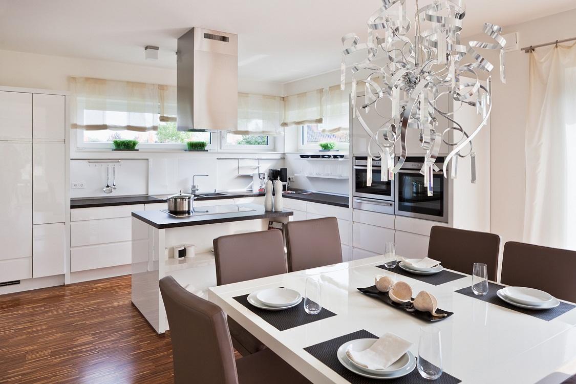 Подходящие стили для кухни белого цвета