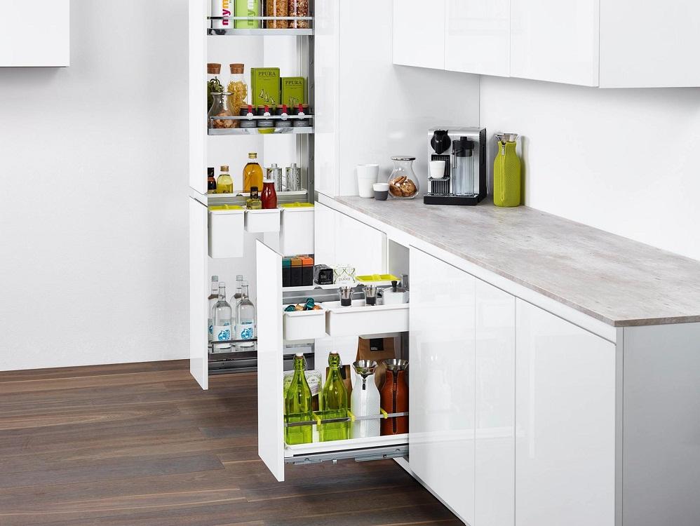 Размеры бутылочницы для кухни