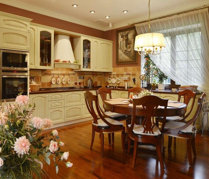 Шторы для создания уютной кухни