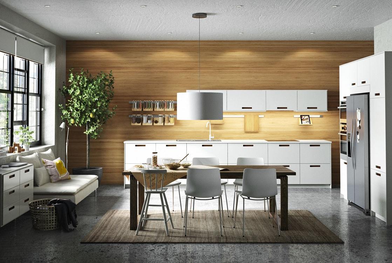 Стилистические направления кухонь ИКЕА