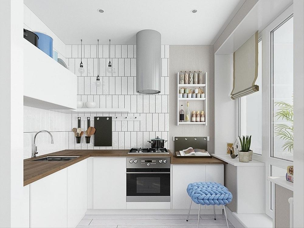 Угловая кухня 6 метров