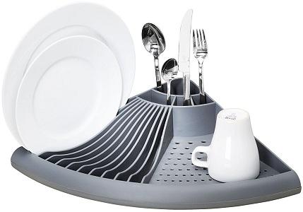 Угловая сушилка для посуды