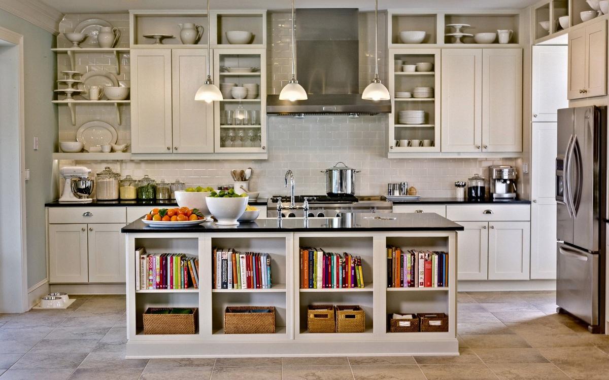 Виды навесных шкафов для кухни