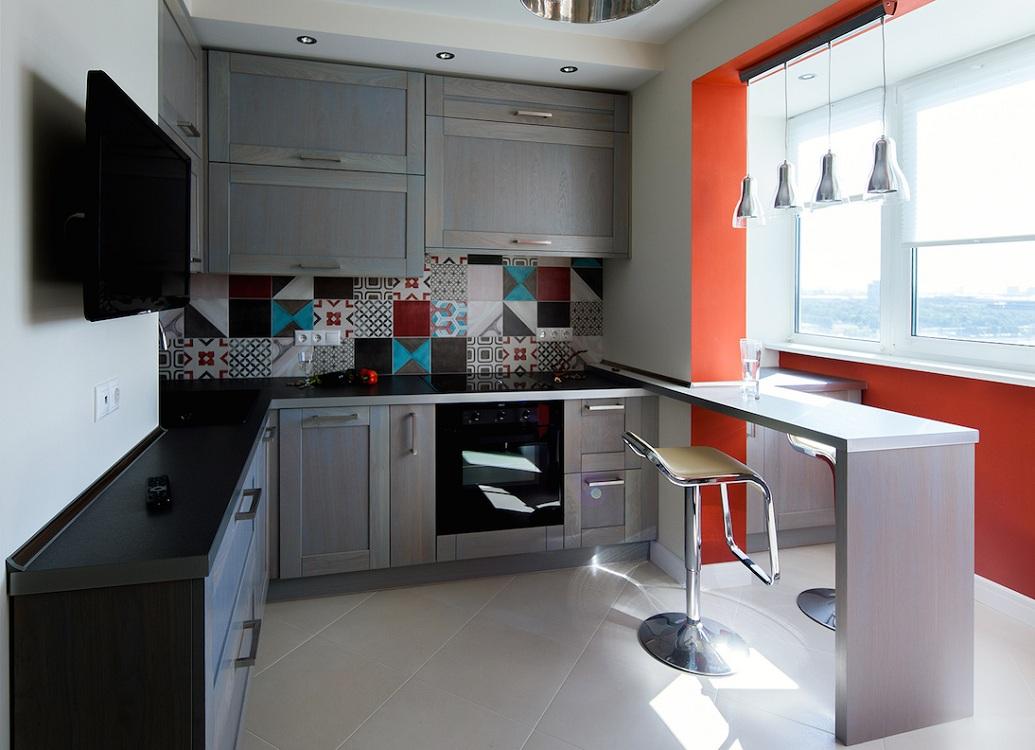Выбор гарнитура для кухни 7 метров