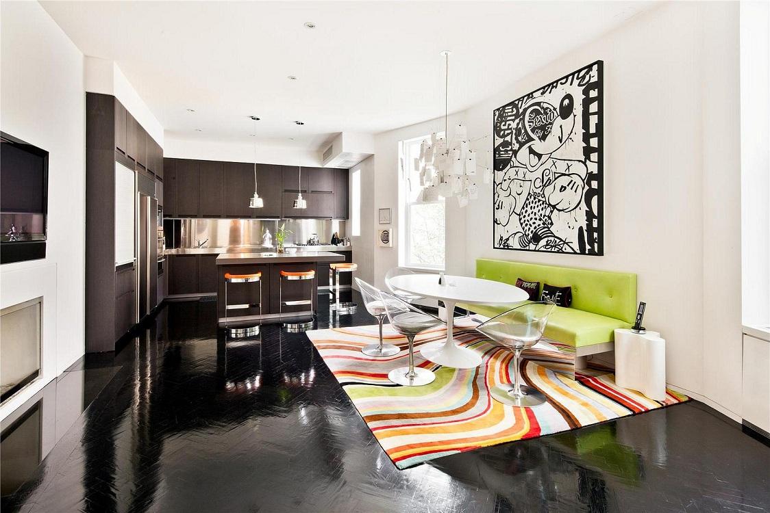 Выбор цвета ковра для кухни