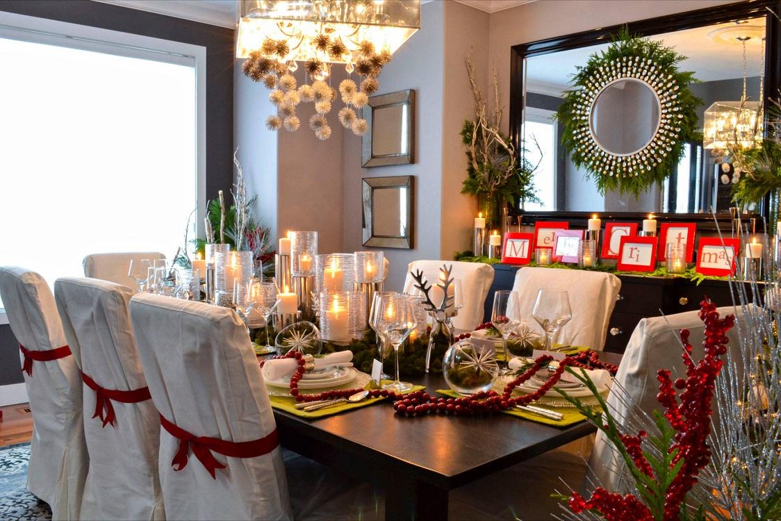 Декорирование стульев к Новому году и Рождеству