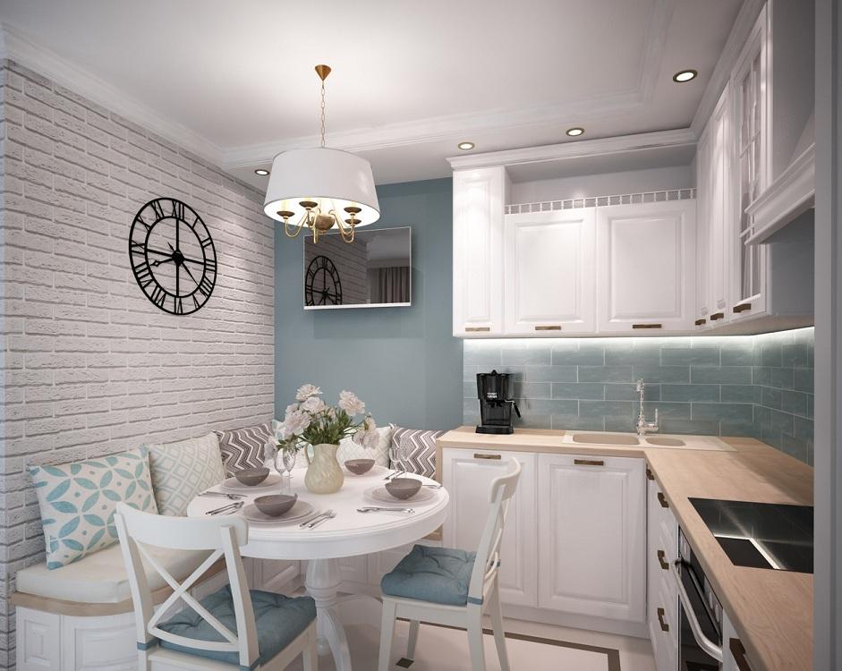 Кухни 10 квадратных метров: 31 фото в интерьере