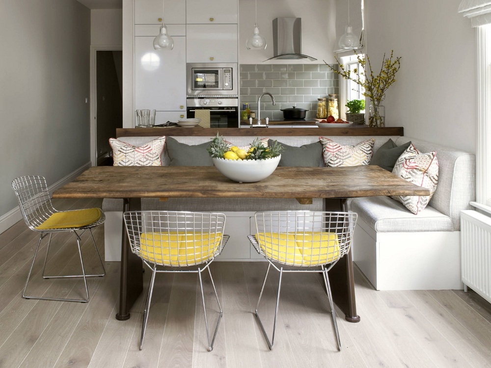 Советы дизайнеров по выбору кухонных уголков для маленьких кухонь