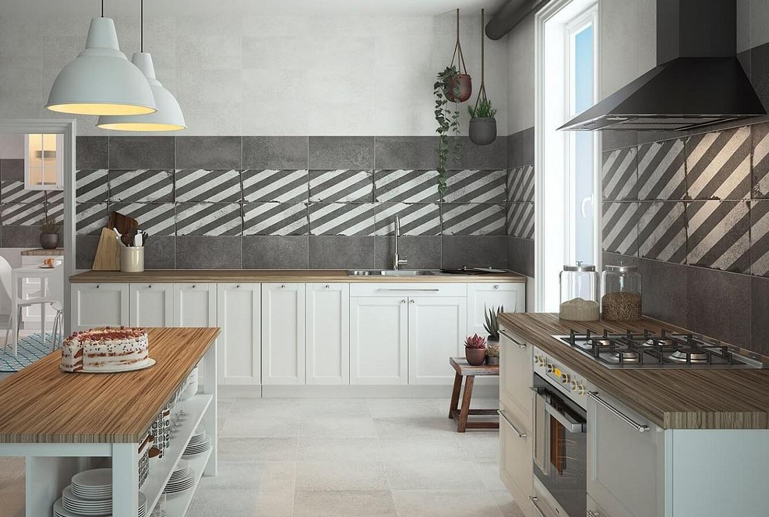 Настенная матовая плитка для кухни