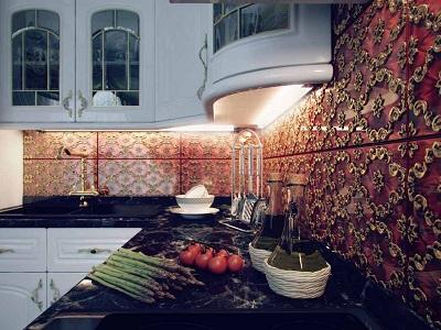 Настенная плитка для кухни