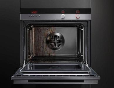 Пиролитическая очистка электрической духовки