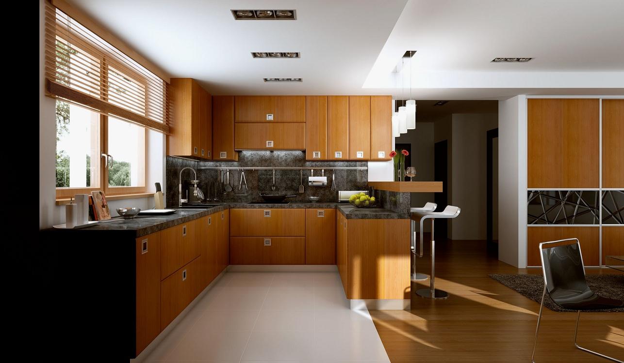 Плитка и линолеум на кухне