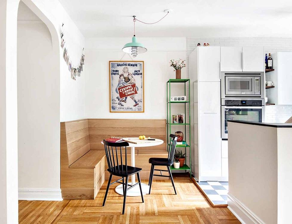 Разновидности кухонных уголков