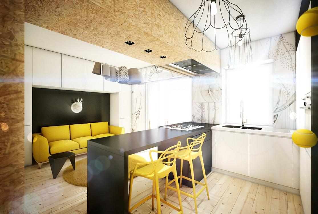 Советы по обустройству кухни-гостиной 17 метров