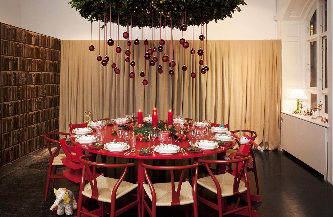 Свечи для украшения кухни к Новому году и Рождеству