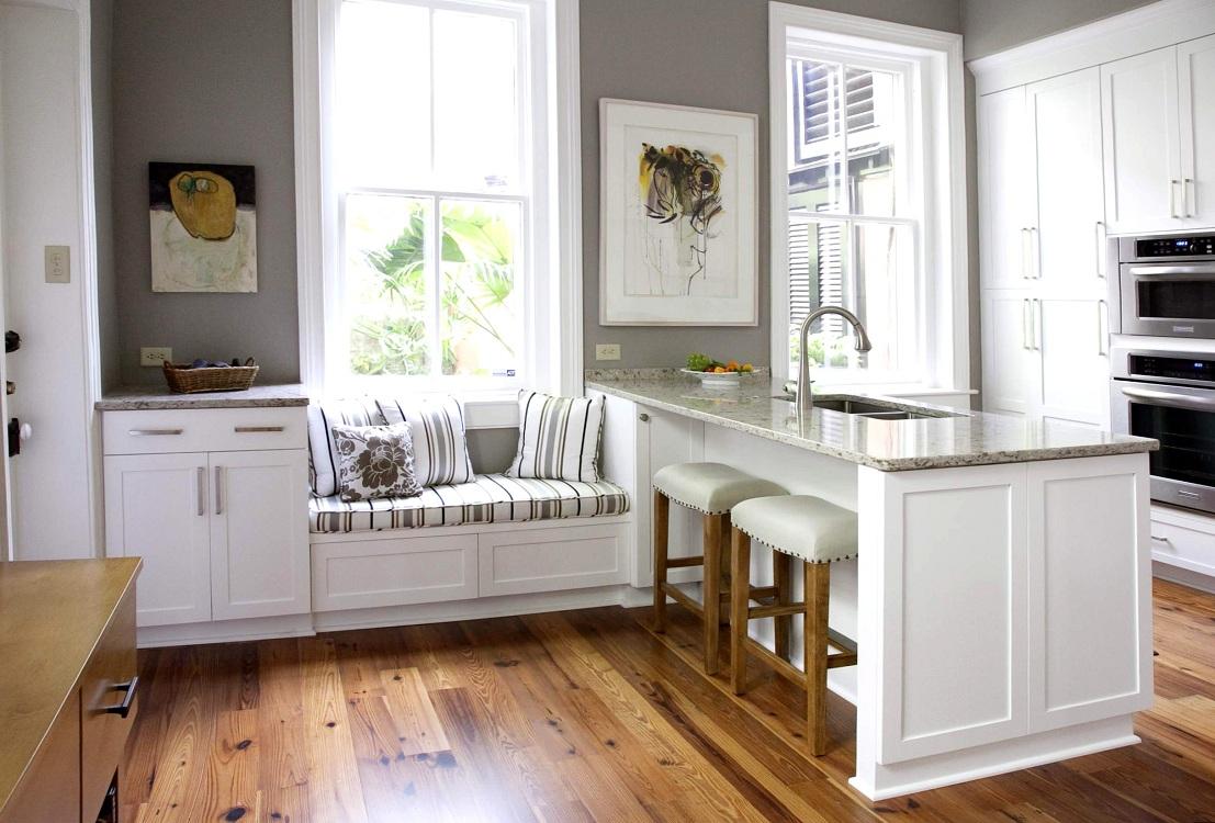 Встроенные в кухонные уголки системы хранения