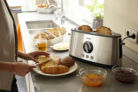 Выбор тостера по типу управления