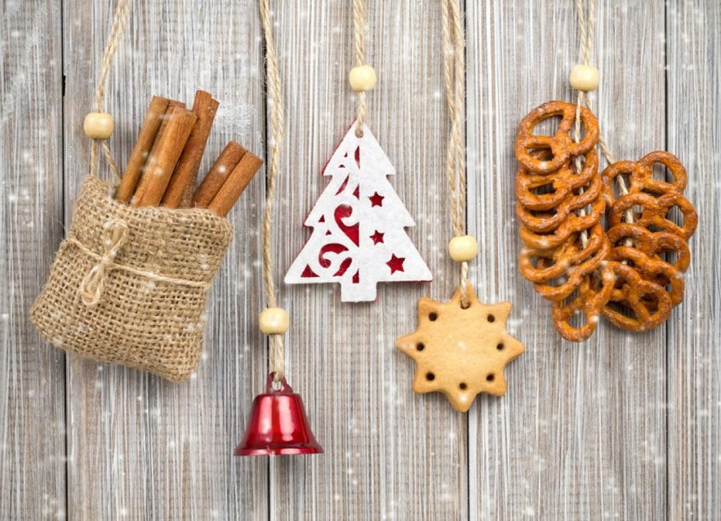 Выпечка для украшения кухни к Новому году и Рождеству