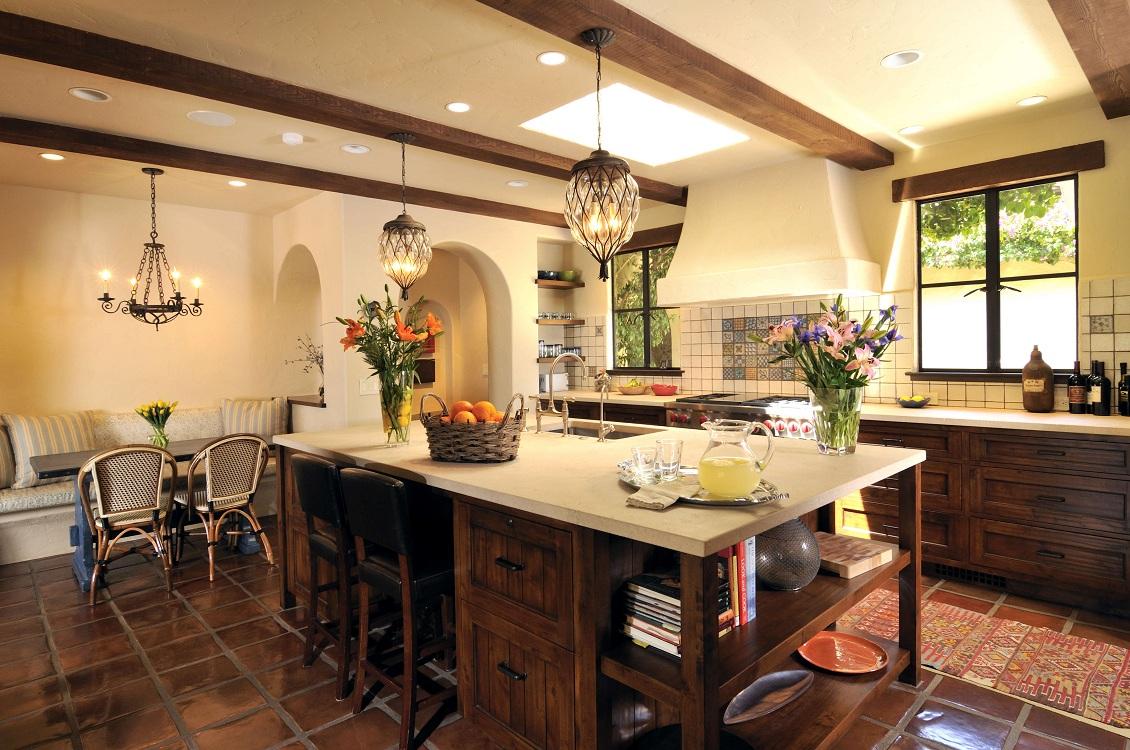 Декор кухни в испанском стиле