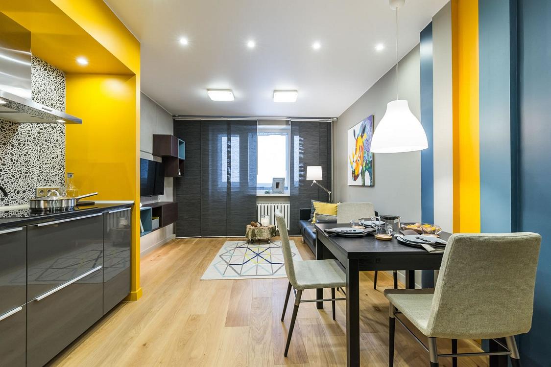 Эргономичность на кухне 15 квадратных метров