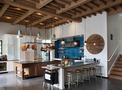 Характерные признаки средиземноморского стиля в интерьере кухни