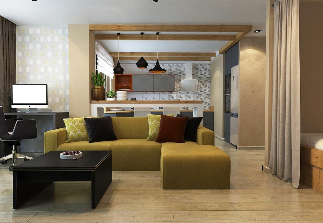 Советы по организации кухни-гостиной 25 м