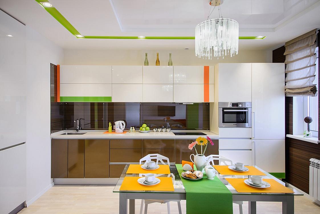 Цветовая палитра при оформлении кухни в европейском стиле