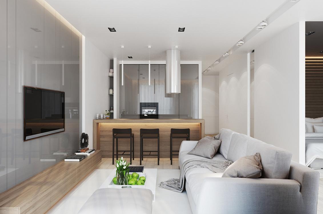 Варианты планировок кухни-гостиной 19 метров