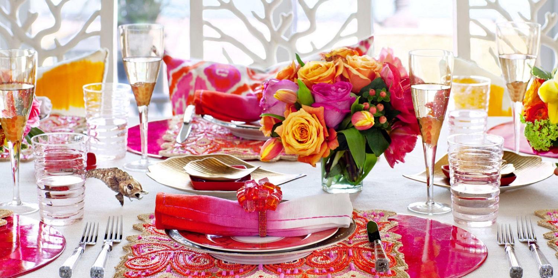 Декор стола ко дню рождения