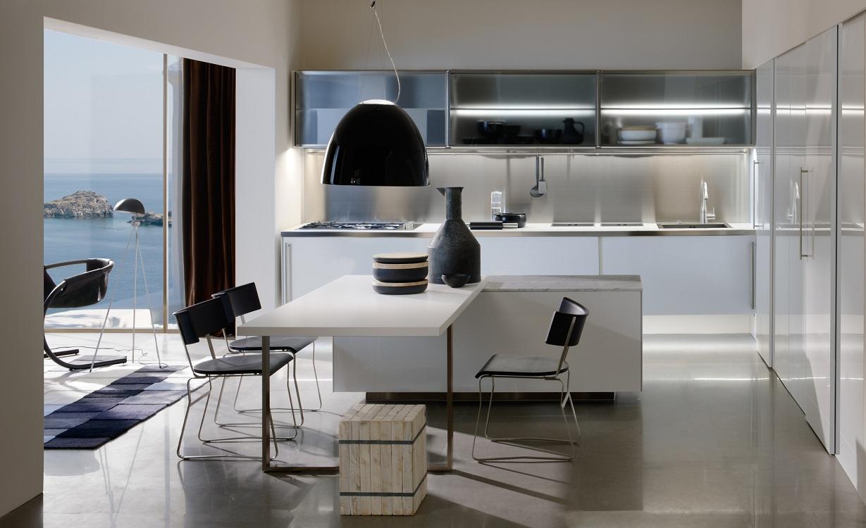 Оформление кухонного пространства в стиле контемпорари