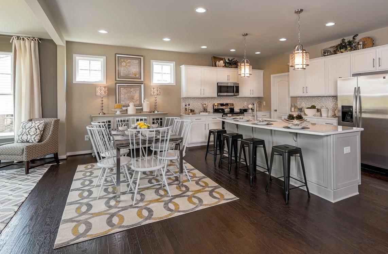 Потолок на кухне в американском стиле