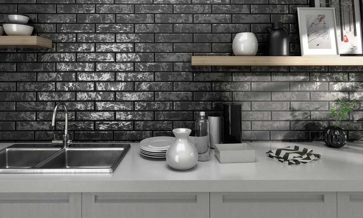 Стоимость плитки для фартука на кухню